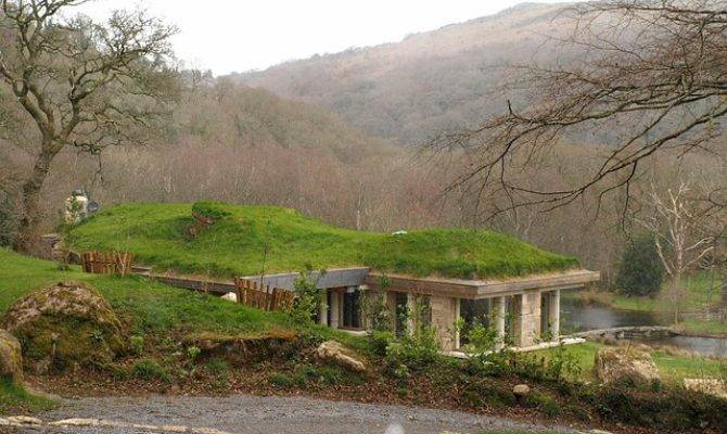 Earth Sheltered Home Plans Modern Designs Lodges