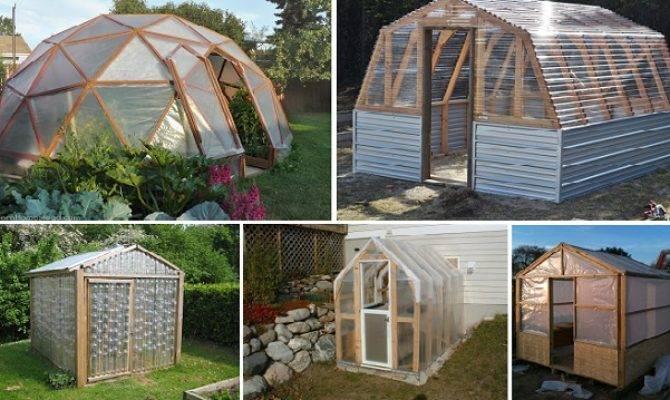 Easy Diy Greenhouse Plans Home Design Garden