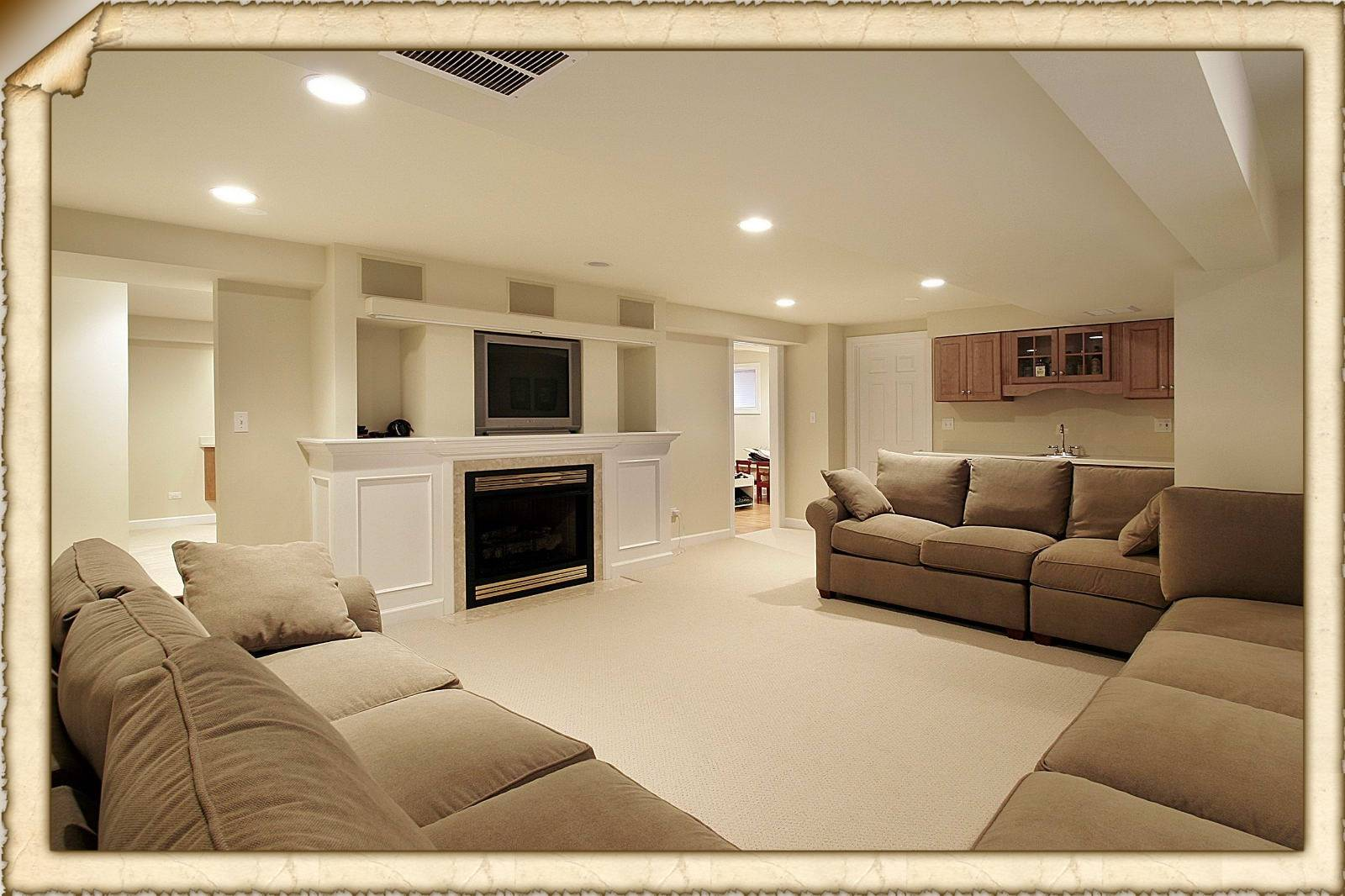 Easy Follow Finished Basement Ideas Bar