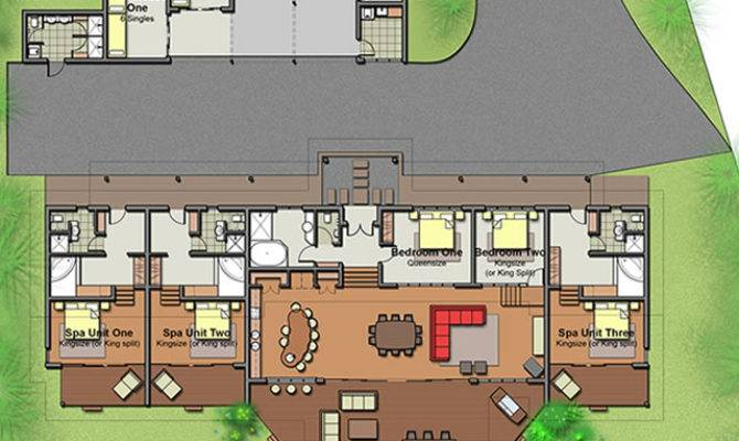 Edge Holiday House Floor Plans