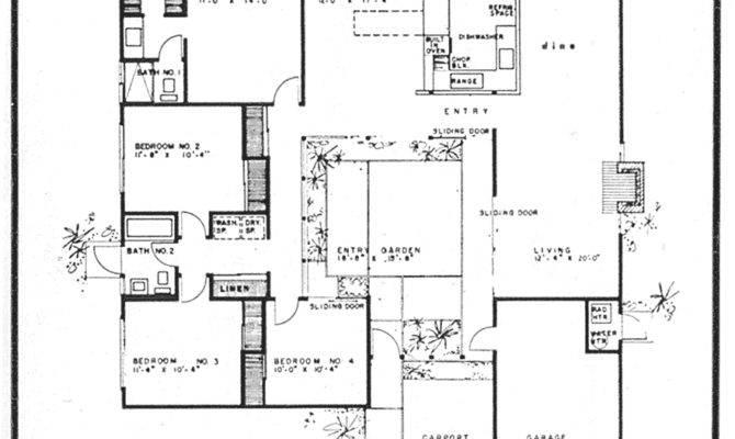 Eichler House Floor Plan