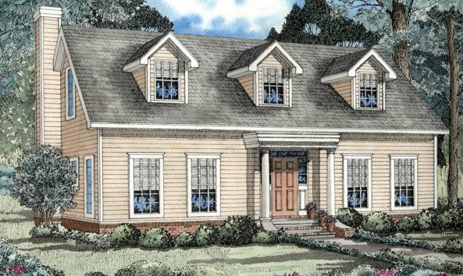 Elbring New England Style Home Plan House