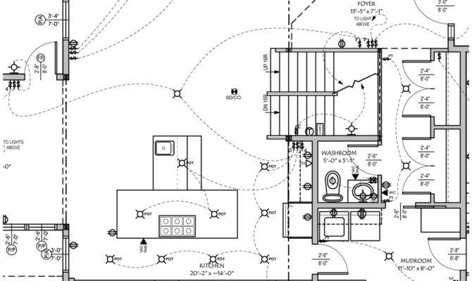 Electrical Plan Sample House Plans