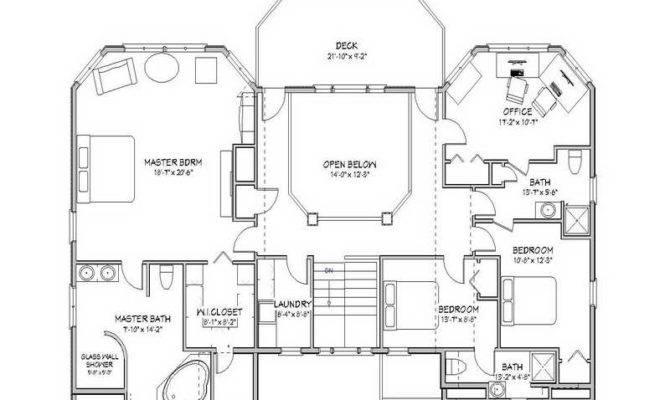 Elegant Floor Plans Beach House