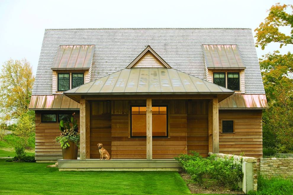 Elegant Home Roof Design Modern Touch Wood