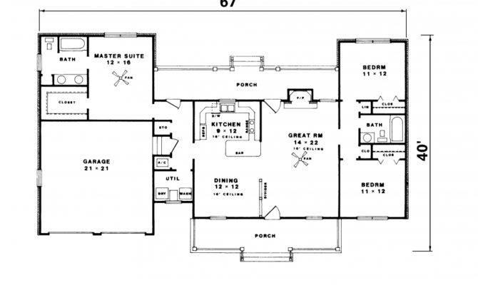 Elegant Simple Floor Plans