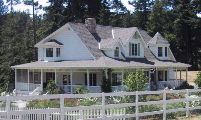 Elegant Single Story House Plans Wrap Around Porch