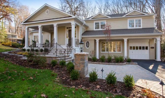 Elegant Split Level Front Porch Designs Danutabois