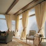 Elegant Window Curtains Home Basement