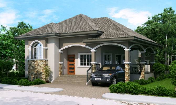 Elevated One Storey House Design Pinoy Designs