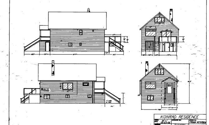 Elevation Plan Draft Drawing
