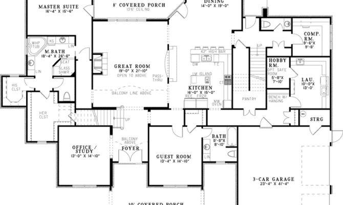 Eliza Place Luxury Home Plan House Plans More