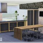 Empire Sims Expresso Kitchen Set Simcredible Designs
