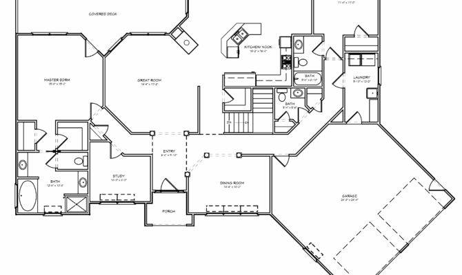 Empty Nester House Plans Old Southern Floor