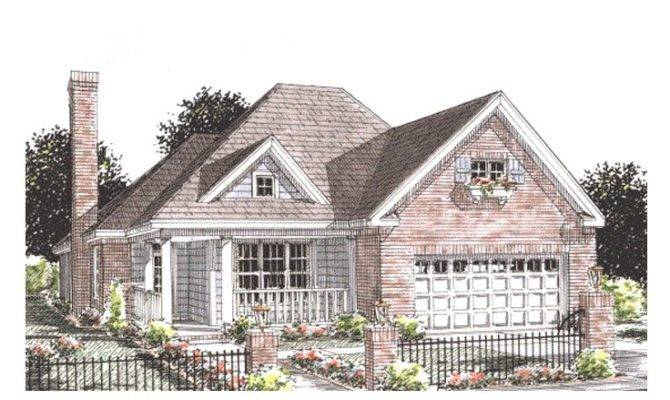 Empty Nester House Plans One Story Home Plan