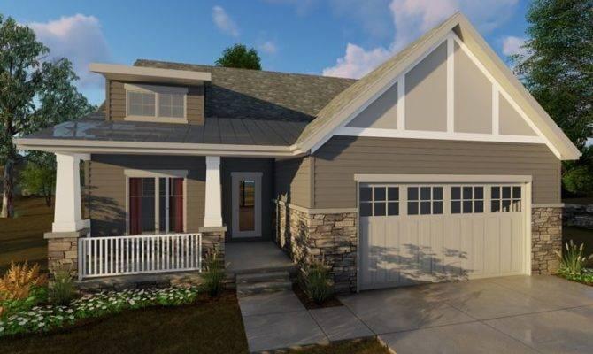 Empty Nester House Plans Story Bungalow Design Makes