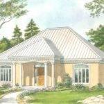 Empty Nester House Plans Sunbelt Style Home