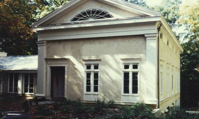 Enchanting Greek Style White House Architecture Including