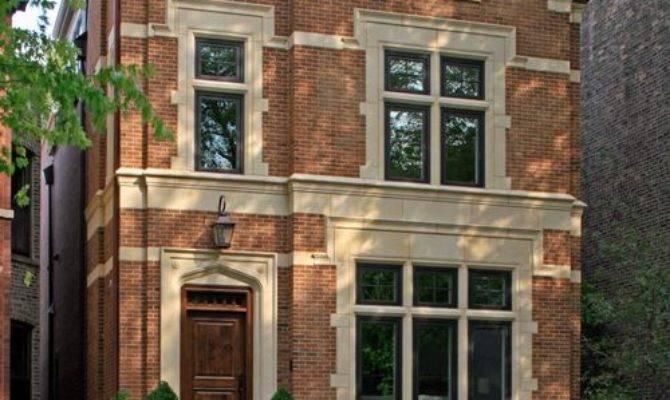 English Brick House Home Design Ideas Remodel