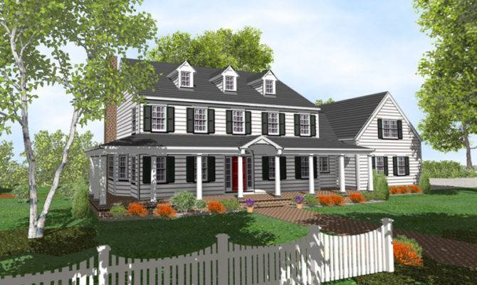 English Colonial House Styles