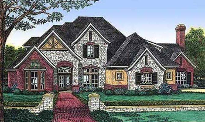 English Country Style House Plans Square Foot Home