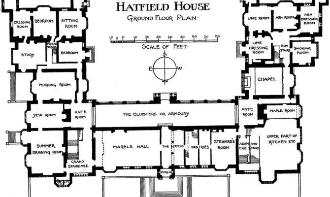 English Manor House Floor Plans Designs List Home