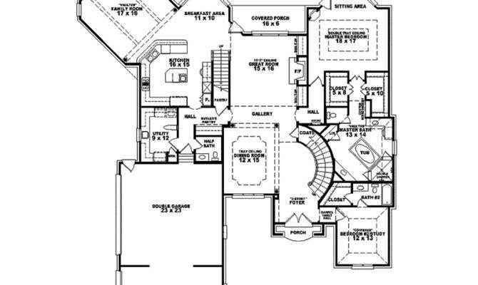English Manor House Floor Plans