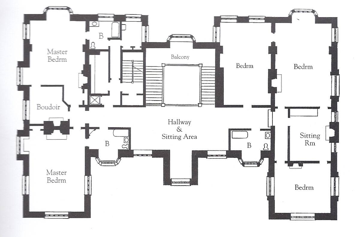 English Mansion Floor Plans Homes