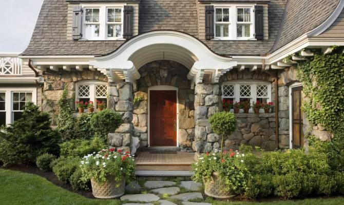 English Stone Cottage House Plans