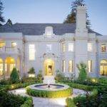 Entrance French Style Mansion Piedmont California
