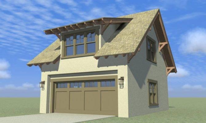 Eplans Bungalow Garage Plan Style Craftsman