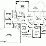 Eplans Bungalow House Plan Four Bedroom Square
