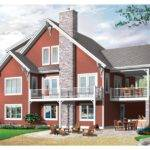 Eplans Chalet House Plan Three Bedroom Cottage Home