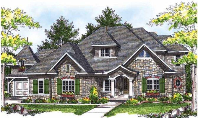 Eplans Chateau House Plan Classic European Style Square Feet
