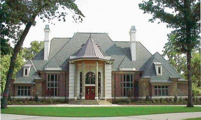 Eplans Chateau House Plan Extravagant Style Home