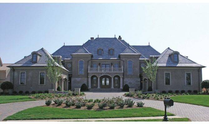 Eplans Chateau House Plan Grand Manor Square Feet