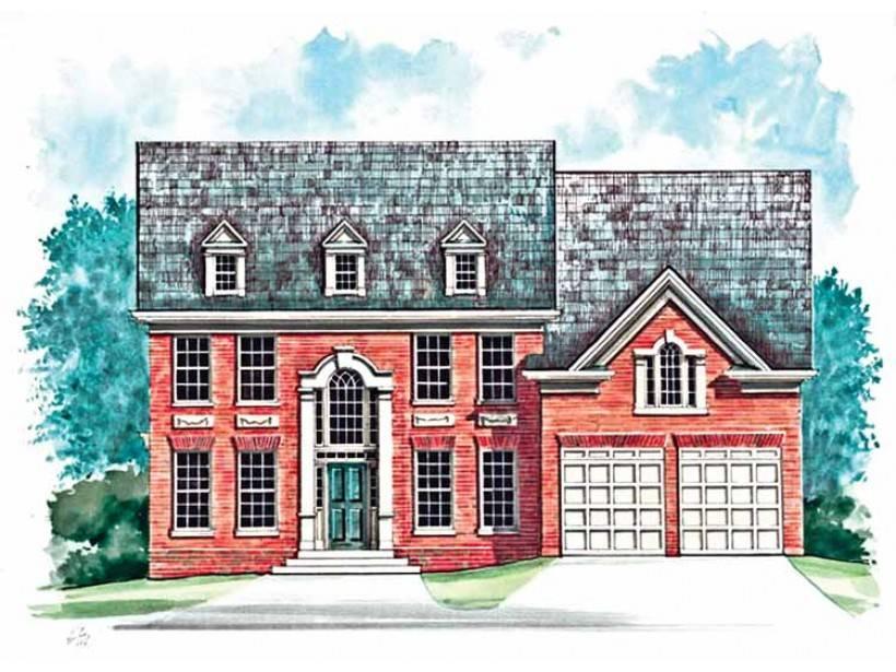 Eplans Colonial Revival House Plan Flexible Space Guest Suite Study