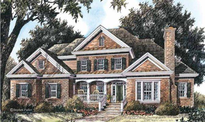 Eplans Colonial Revival House Plan Food Thought Square
