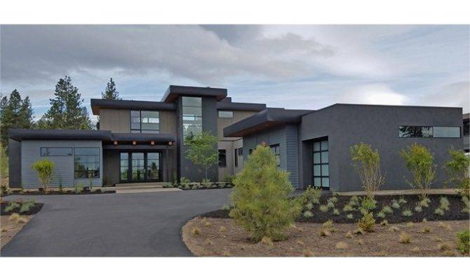 Eplans Contemporary Modern House Plan Light Filled