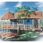 Eplans Cottage House Plan Ideal Waterfront Property
