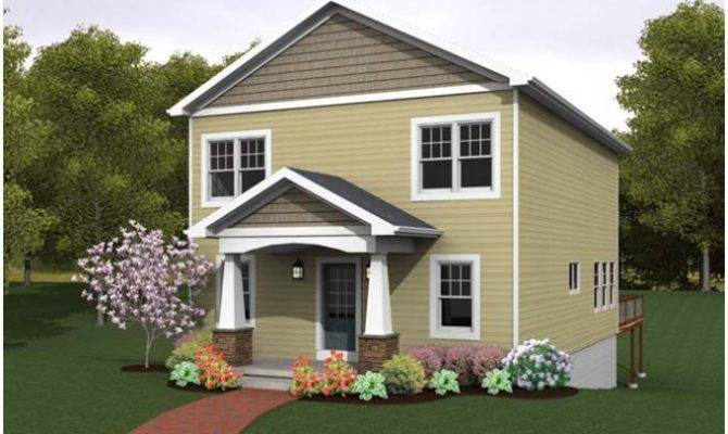 Eplans Cottage House Plan Narrow Lot Great Waterfront