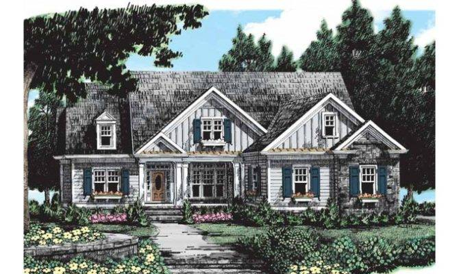 Eplans Cottage House Plan One Story All Need Square