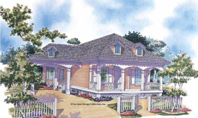 Eplans Cottage House Plan Southern Comfort Square Feet