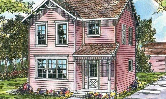 Eplans Cottage House Plan Three Bedroom Urban Infill Home