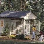 Eplans Country Plan Storage Building Southern Living