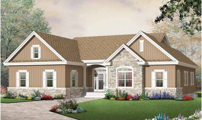 Eplans Craftsman House Plan Empty Nester Excellence Square