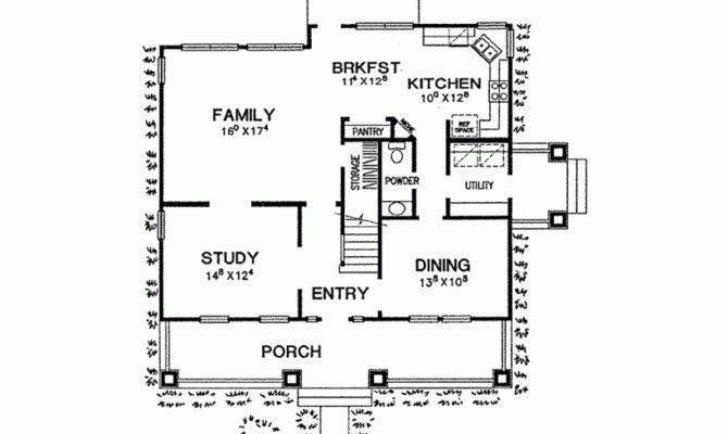 Eplans Craftsman House Plan Favorite Foursquare Square Feet