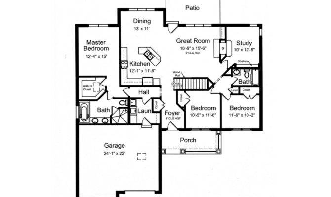 Eplans Craftsman House Plan Open Floor Split Bedrooms