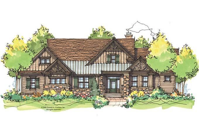 Eplans Craftsman House Plan Rustic Cottage Square Feet