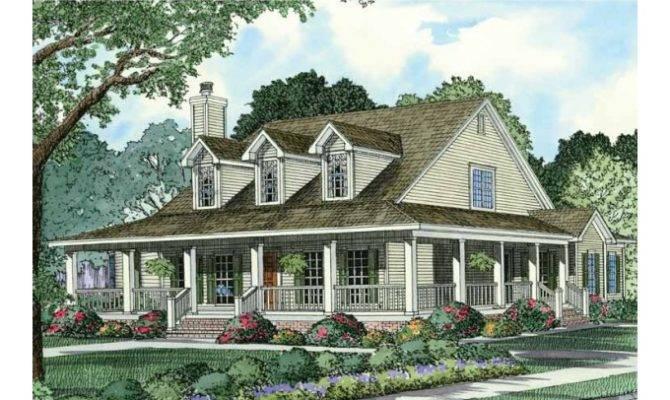 Eplans Farmhouse House Plan Wraparound Front Porch Square